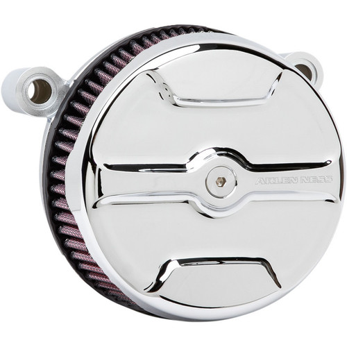 Arlen Ness Knuckle Big Sucker Air Cleaner Kit for 1999-2017 Harley Big Twin* - Chrome