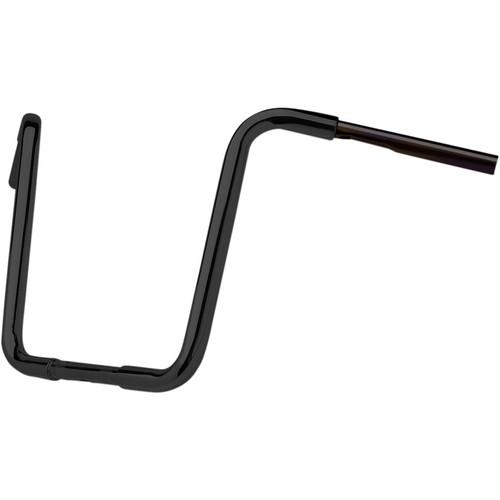 "CycleSmiths 1-1/4"" Premium Series 13"" Apes Handlebars - Gloss Black"