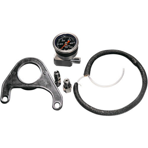 Revolution Performance Oil Pressure Gauge Kit for Harley M8