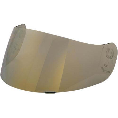 Z1R Jackal Helmet Face Shield - RST Gold