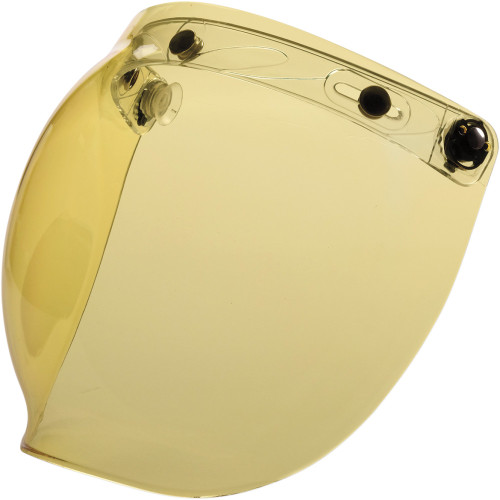Z1R Flip Up Bubble Face Shield - Amber