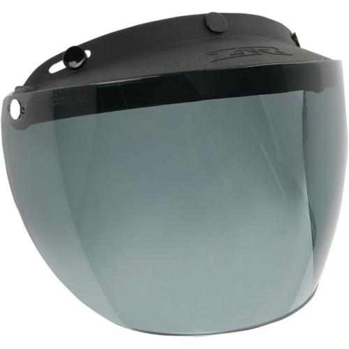 Z1R 3-Snap Flip Up Face Shield - Smoke