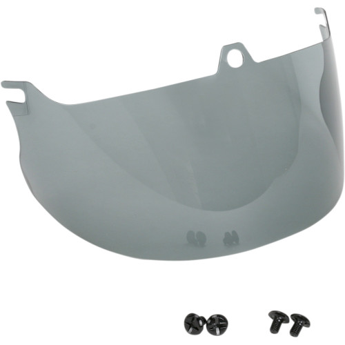 Z1R Nomad Helmet Face Shield - Light Smoke