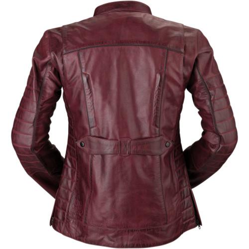 Z1R Women's 410 Merlot Leather Jacket