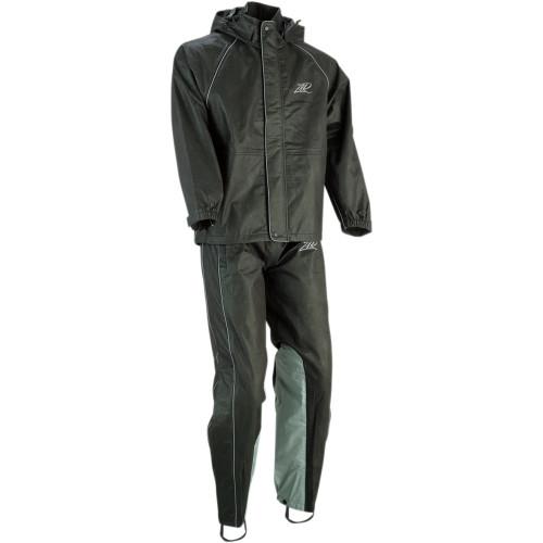 Z1R Women's Rain Suit - Black