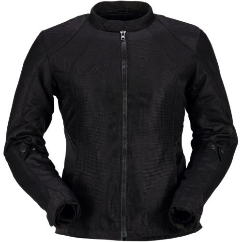 Z1R Women's Gust Mesh Waterproof Jacket - Black