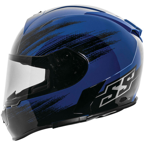 Speed and Strength SS900 Evader Helmet - Blue