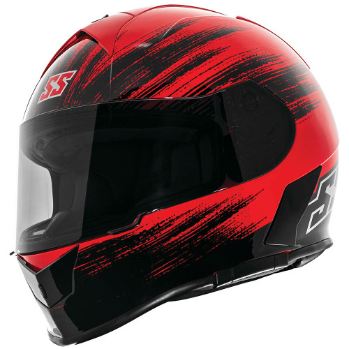 Speed and Strength SS900 Evader Helmet - Red