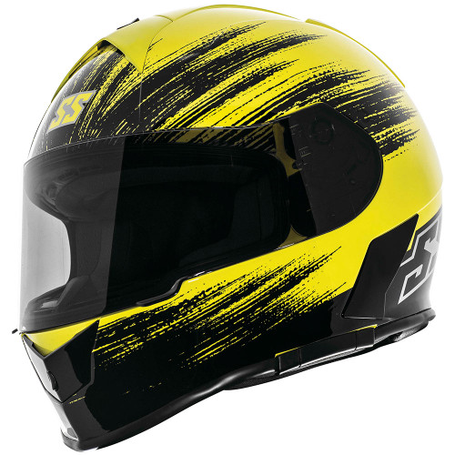 Speed and Strength SS900 Evader Helmet - Hi-Viz Yellow