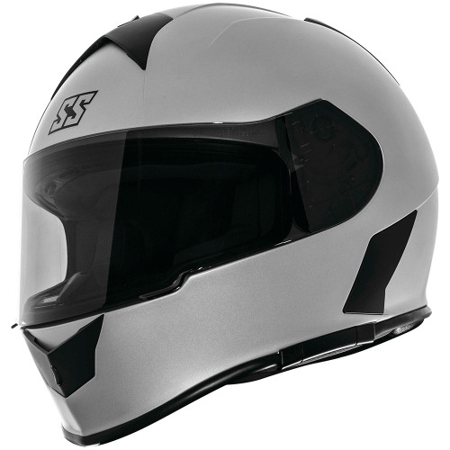 Speed and Strength SS900 Solid Speed Helmet - Silver