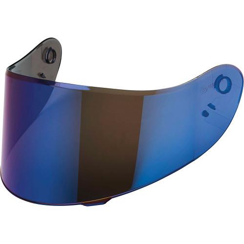 Speed and Strength SS2100 Face Shield - Blue Iridium