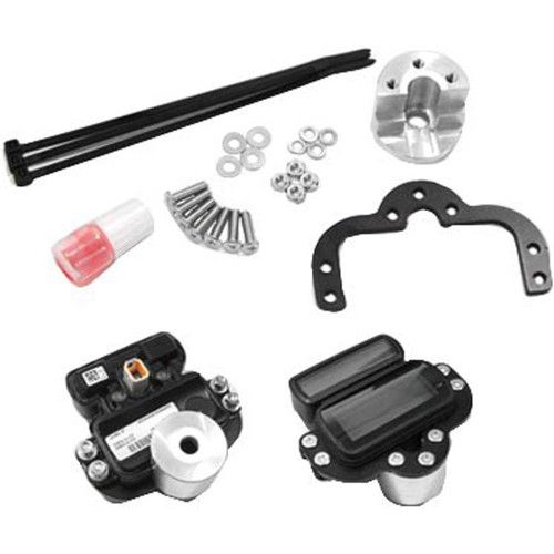 West-Eagle Gauge Relocation Kit for 2018-2019 Harley Street Bob