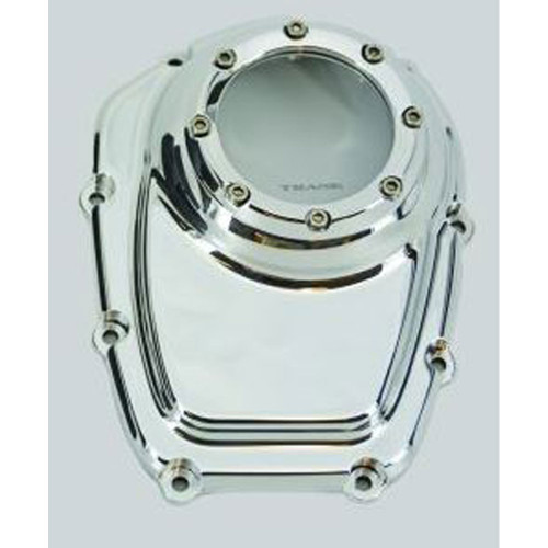 Trask Assault Series Cam Cover for Harley M8 - Chrome