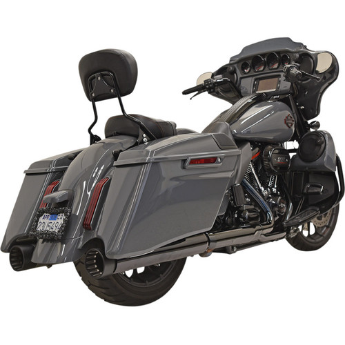 "Bassani CVO 4"" DNT Exhaust Mufflers for 2017-2019 Harley CVO"