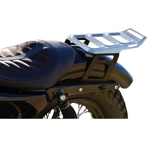 Kuryakyn Dillinger Luggage Rack for 2004-2019 Harley Sportster - Silver
