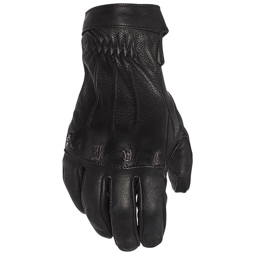 Speed and Strength Onyx Women's Leather Gloves