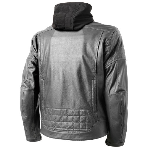 Roland Sands Jagger Leather Jacket - Gunmetal