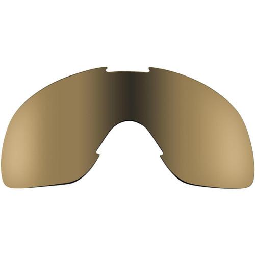 Biltwell Overland Lens - Gold Mirror/Brown