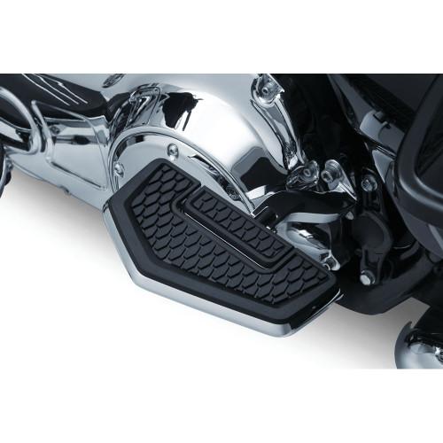 Kuryakyn Hex Folding Boards Foot Pegs - Chrome