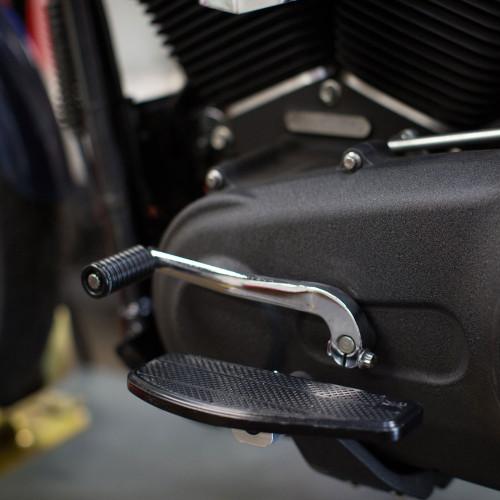 Thrashin Supply Mini Floorboards Foot Pegs for Harley - Black