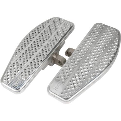Thrashin Supply Mini Floorboards Foot Pegs for 2018-2019 Harley Softail - Raw