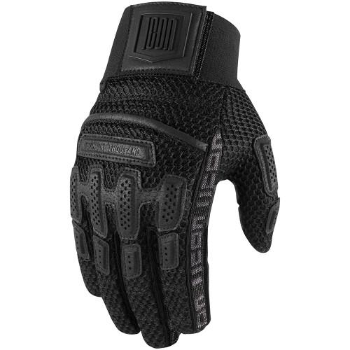 Icon 1000 Brigand Gloves - Black