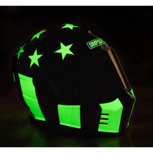 Simpson Ghost Bandit Helmet - Aurora