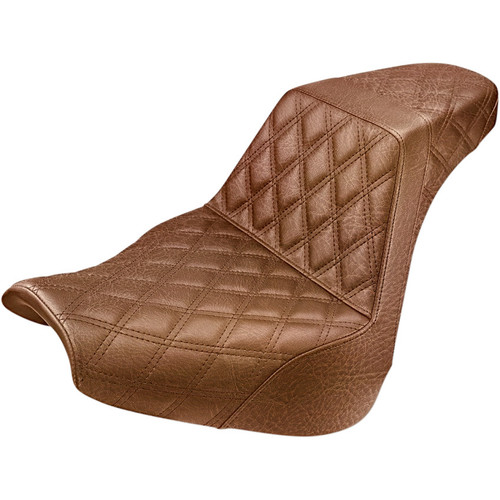 Saddlemen Full LS Step-Up Seat for 2018-2020 Harley Softail Breakout - Brown