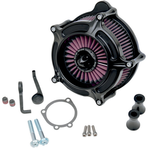 Roland Sands Turbine Air Cleaner for 2008-2017 Harley* - Black