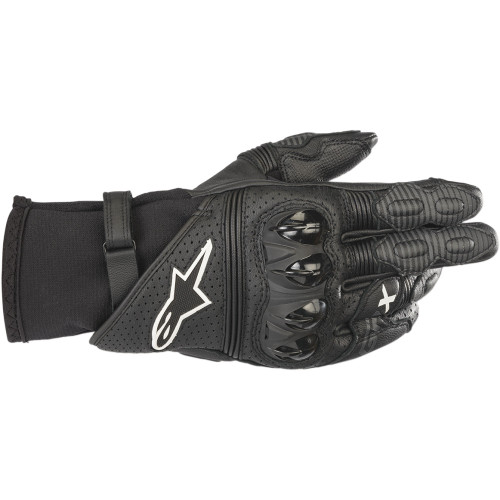 Alpinestars GP-X V2 Leather Gloves - Black