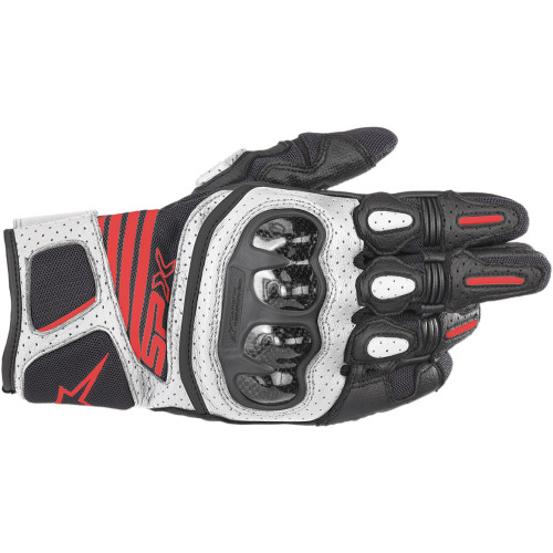 Alpinestars SP-X V2 Air Carbon Gloves - Black/White/Red