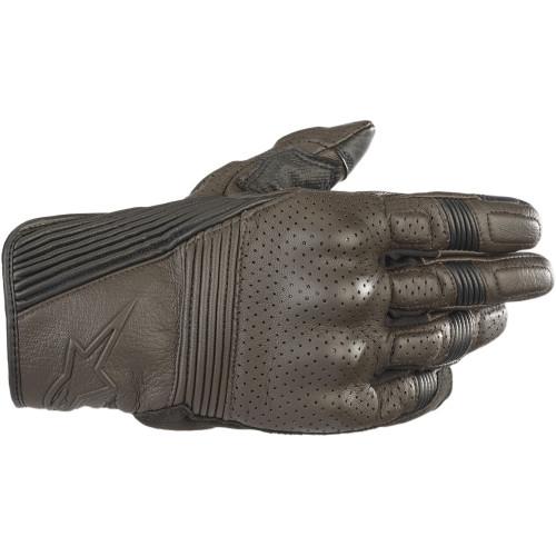 Alpinestars Mustang V2 Leather Gloves - Brown