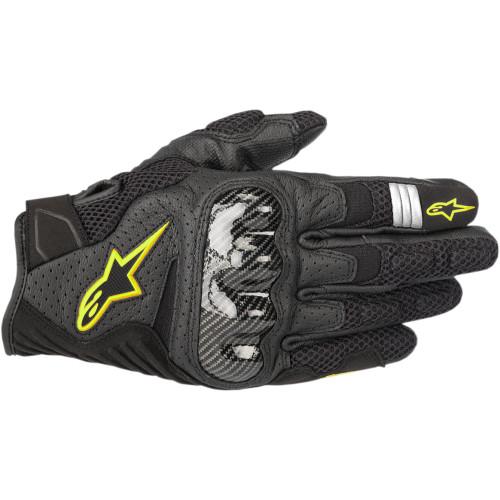 Alpinestars SMX-1 Air V2 Gloves - Black/Yellow