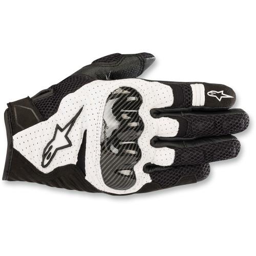 Alpinestars SMX-1 Air V2 Gloves - Black/White