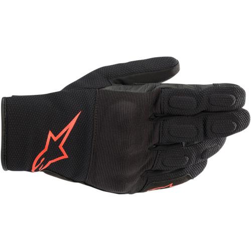 Alpinestars S-Max Drystar Gloves - Black/Red