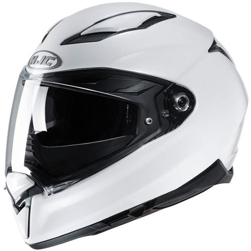 HJC F70 Helmet - White