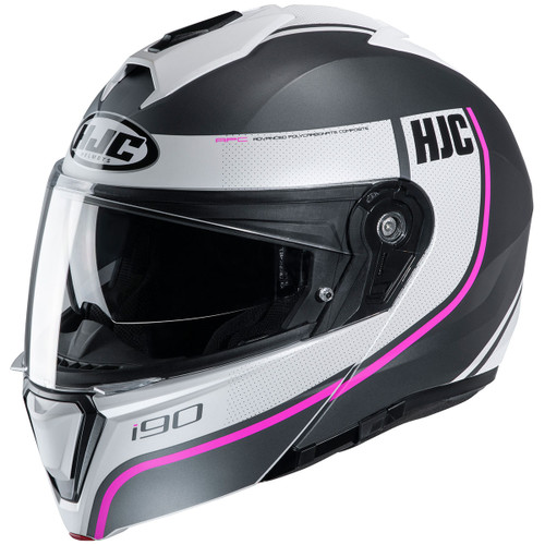 HJC i90 Modular Helmet - Davan MC-8SF