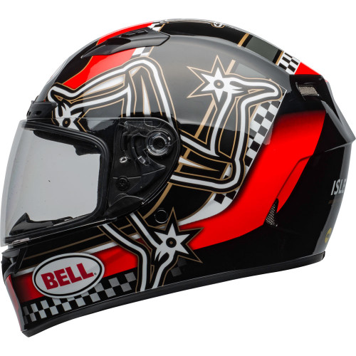 Bell Qualifier DLX MIPS Helmet - Isle of Man 2020 Gloss Red/Black/White