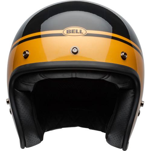 Bell Custom 500 Helmet - Streak Gloss Black/Gold