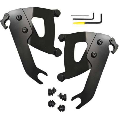 Memphis Shades Road Warrior Fairing Trigger-Lock Mounting Kit for 2018-2020 Harley Softail Slim