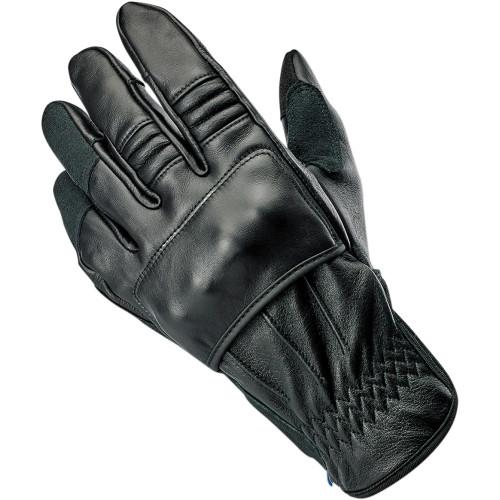 Biltwell Belden Leather Gloves - Black