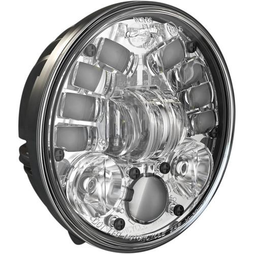 "J.W. Speaker 5.75"" Pedestal Mount LED Adaptive 2 Headlight - Chrome"