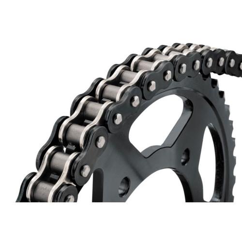 BikeMaster 530 x 120 BMZR Series Chain - Black/Chrome