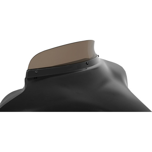 """Memphis Shades 3"""" Spoiler Windshield for 1996-2013 Harley Touring - Smoke"""