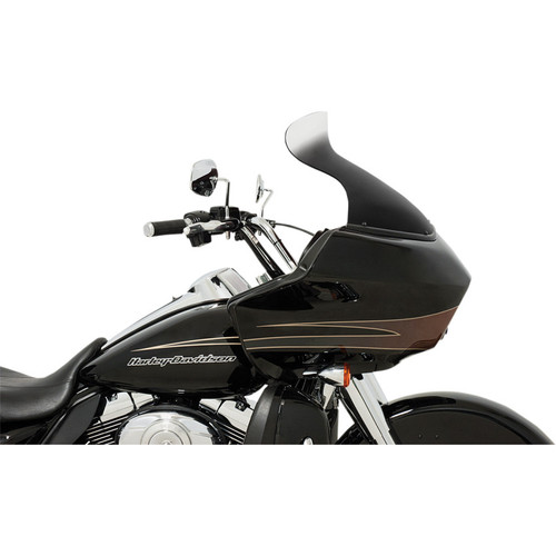 "Memphis Shades 11.5"" Spoiler Windshield for 1998-2013 Harley Road Glide - Ghost"