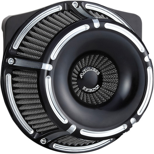 Arlen Ness Slot Track Inverted Air Cleaner for 2017-2020 Harley M8 - Black