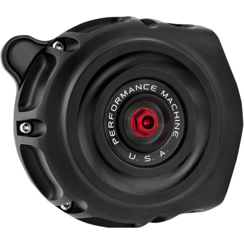Performance Machine Vintage Air Cleaner for 1991-2020 Harley Sportster - Black Ops