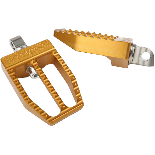 Thrashin Supply Militant Foot Pegs for 2018-2019 Harley Softail - Gold