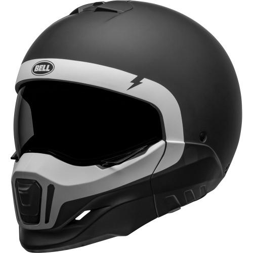 Bell Broozer Helmet - Cranium Matte Black/White