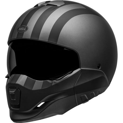 Bell Broozer Helmet - Free Ride Matte Gray/Black